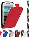 Kılıf Na Samsung Galaxy S3 Mini Flip Pełne etui Solidne kolory Skóra PU