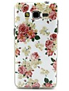 Na Samsung Galaxy Etui Etui Pokrowce Wzór Etui na tył Kılıf Kwiaty Poliuretan termoplastyczny na Samsung Galaxy Grand Neo
