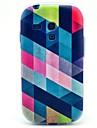 Na Samsung Galaxy Etui Wzór Kılıf Etui na tył Kılıf Geometryczny wzór TPU Samsung S3 Mini
