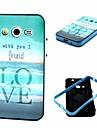 Na Samsung Galaxy Etui Odporne na wstrząsy / Wzór Kılıf Etui na tył Kılıf Napis TPU Samsung Core 2