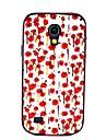 Na Samsung Galaxy Etui Odporne na wstrząsy / Wzór Kılıf Etui na tył Kılıf Kwiat PC Samsung S4 Mini