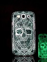 czaszki wzór blask w ciemności twardym etui do Samsung Galaxy S3 i9300