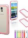 df kolorowe średnim przejrzyste TPU + szt zderzak do Samsung s5 mini (inne kolor)
