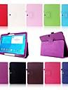 Kılıf Na Samsung Galaxy Tab 4 10.1 Z podpórką / Flip Pełne etui Solidne kolory Skóra PU