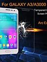 Ochrona ekranu na Samsung Galaxy A3 Szkło hartowane Folia ochronna ekranu Bardzo cienkie