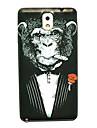 cienkie ciężka pokrywa szympans wzór do Samsung Galaxy uwadze 3
