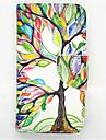 Kılıf Na Samsung Galaxy Samsung Galaxy Etui Etui na karty Z podpórką Flip Wzór Pełne etui Drzewo Skóra PU na S4 Mini
