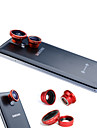 3-In-One magnetyczny 180 ° Fish Eye Lens i 0.67X Wide Angle z Macro Lens o Samsung Mobile Phone
