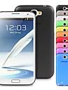 Kılıf Na Samsung Galaxy Samsung Galaxy Note Ultra cienkie Osłona tylna Solidne kolory TPU na Note 2