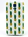 Wiele małych ananasów wzór TPU miękki pokrowiec do Galaxy s5 mini