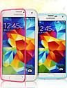Na Samsung Galaxy Etui Flip / Przezroczyste Kılıf Futerał Kılıf Jeden kolor TPU Samsung S5