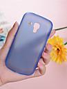 Na Samsung Galaxy Etui Ultra cienkie / Przezroczyste Kılıf Etui na tył Kılıf Jeden kolor PC Samsung Trend Duos