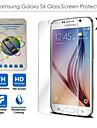 ultra cienkie hd jasne przeciwwybuchowe szyba hartowana ochraniacz na Samsung Galaxy s6 g9200 (2szt)