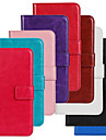 Kılıf Na Samsung Galaxy S5 Mini Portfel / Etui na karty / Z podpórką Pełne etui Solidne kolory Skóra PU