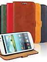 Kılıf Na Samsung Galaxy S3 Portfel / Etui na karty / Z podpórką Pełne etui Solidne kolory Skóra PU