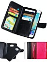 Kılıf Na Samsung Galaxy S8 Plus / S8 / S7 Edge Portfel / Etui na karty / Magnetyczne Pełne etui Solidne kolory Miękka Prawdziwa skóra
