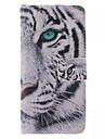 Kılıf Na Samsung Galaxy Samsung Galaxy Etui Etui na karty Portfel Z podpórką Flip Pełne etui Zwierzę Skóra PU na S6