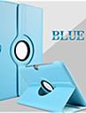 Kılıf Na Samsung Galaxy Samsung Galaxy Etui Z podpórką / Flip / Obrót 360° Pełne etui Solidne kolory Skóra PU na Tab 2 10.1