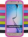 Kılıf Na Samsung Galaxy S6 Odporny na wstrząsy Osłona tylna Solidne kolory Silikon