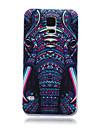 Na Samsung Galaxy Etui Etui Pokrowce Wzór Etui na tył Kılıf Słoń Poliuretan termoplastyczny na SamsungS6 edge S6 S5 Mini S5 S4 Mini S4 S3