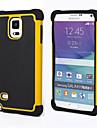 DE JI Kılıf Na Samsung Galaxy Samsung Galaxy Note Odporny na wstrząsy Osłona tylna Zbroja PC na Note 4 / Note 3