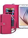 Kılıf Na Samsung Galaxy S8 Plus / S8 / S6 edge Portfel Pełne etui Solidne kolory Skóra PU