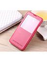 Kılıf Na Samsung Galaxy Samsung Galaxy Note7 Z podpórką Z okienkiem Pełne etui Solid Color Skóra PU na Note 7 Note 5 Edge Note 5 Note 4