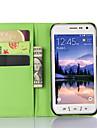 Kılıf Na Samsung Galaxy S6 Active / S5 Mini / S5 Active Z podpórką / Z okienkiem Pełne etui Solidne kolory Skóra PU