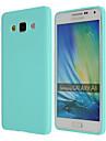 Kılıf Na Samsung Galaxy Samsung Galaxy Etui Ultra cienkie Osłona tylna Solidne kolory TPU na A8 / A7 / A5
