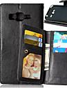 Kılıf Na Samsung Galaxy J5 / J1 / Grand Prime Portfel / Etui na karty / Z podpórką Pełne etui Solidne kolory Skóra PU