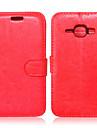 Kılıf Na Samsung Galaxy Samsung Galaxy Etui Portfel / Etui na karty / Z podpórką Pełne etui Solidne kolory Skóra PU na J7 / J5 / J1