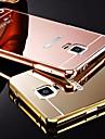 Kılıf Na Samsung Galaxy Note 5 / Note 4 / Note 3 Powłoka / Lustro Osłona tylna Jednokolorowe Metal