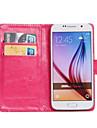 Kılıf Na Samsung Galaxy Z3 / Young 2 / Trend Lite Obrót 360° / Etui na karty / Z podpórką Pełne etui Solidne kolory Skóra PU