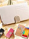 SHI CHENG DA Kılıf Na Samsung Galaxy Samsung Galaxy Note7 Portfel / Etui na karty / Kryształ górski Pełne etui Solidne kolory Skóra PU na Note 7 / Note 5 / Note 4
