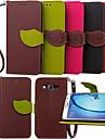 Kılıf Na Samsung Galaxy Young 2 / On 7 / On 5 Portfel / Etui na karty / Z podpórką Pełne etui Solidne kolory Skóra PU