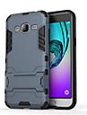 Kılıf Na Samsung Galaxy J7 (2016) / J7 / J5 (2016) Odporny na wstrząsy / Z podpórką Osłona tylna Zbroja Twardość PC