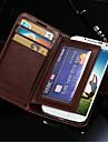 trwałe pu skórzane etui portfel dla Samsung Galaxy s4 i9500
