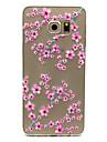 Kılıf Na Samsung Galaxy Samsung Galaxy Etui Transparentny Osłona tylna Kwiat TPU na S6 edge plus / S6 edge / S6