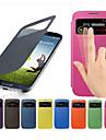 Kılıf Na Samsung Galaxy S4 Mini Z okienkiem / Flip Pełne etui Solidne kolory Skóra PU
