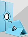 Kılıf Na Samsung Galaxy Samsung Galaxy Note Z podpórką / Obrót 360° Pełne etui Jednokolorowe Skóra PU na Note 10.1