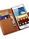 Portfel skórzany futerał do Samsung Galaxy S2 i9100