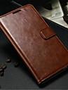 Kılıf Na Samsung Galaxy Note 3 Portfel / Etui na karty / Z podpórką Pełne etui Solidne kolory Skóra PU