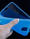 Na Samsung Galaxy Etui Etui Pokrowce Flip Przezroczyste Futerał Kılıf Jeden kolor TPU na Samsung S5