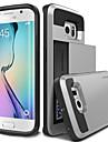 Kılıf Na Samsung Galaxy Samsung Galaxy Etui Etui na karty Osłona tylna Zbroja PC na S6 edge plus / S6 edge / S6