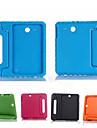 Kılıf Na Samsung Galaxy Tab E 9.6 Odporny na wstrząsy / Z podpórką / Bezpieczne dla dziecka Pełne etui Solidne kolory Silikon