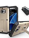 DE JI Kılıf Na Samsung Galaxy Samsung Galaxy Etui Odporny na wstrząsy / Z podpórką Osłona tylna Zbroja PC na S7 / S6