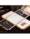 Kılıf Na Samsung Galaxy S8 Plus / S8 / S7 Edge Powłoka / Transparentny Osłona tylna Solidne kolory TPU