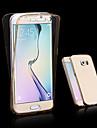 Kılıf Na Samsung Galaxy A3(2017) / A5(2017) / A7(2017) Transparentny Pełne etui Solidne kolory TPU
