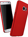 Kılıf Na Samsung Galaxy Samsung Galaxy S7 Edge Wzór Osłona tylna Solidne kolory PC na S7 Edge / S7