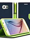 Kılıf Na Samsung Galaxy Note 5 / Note 4 / Note 3 Z podpórką / Flip Pełne etui Solidne kolory Skóra PU
